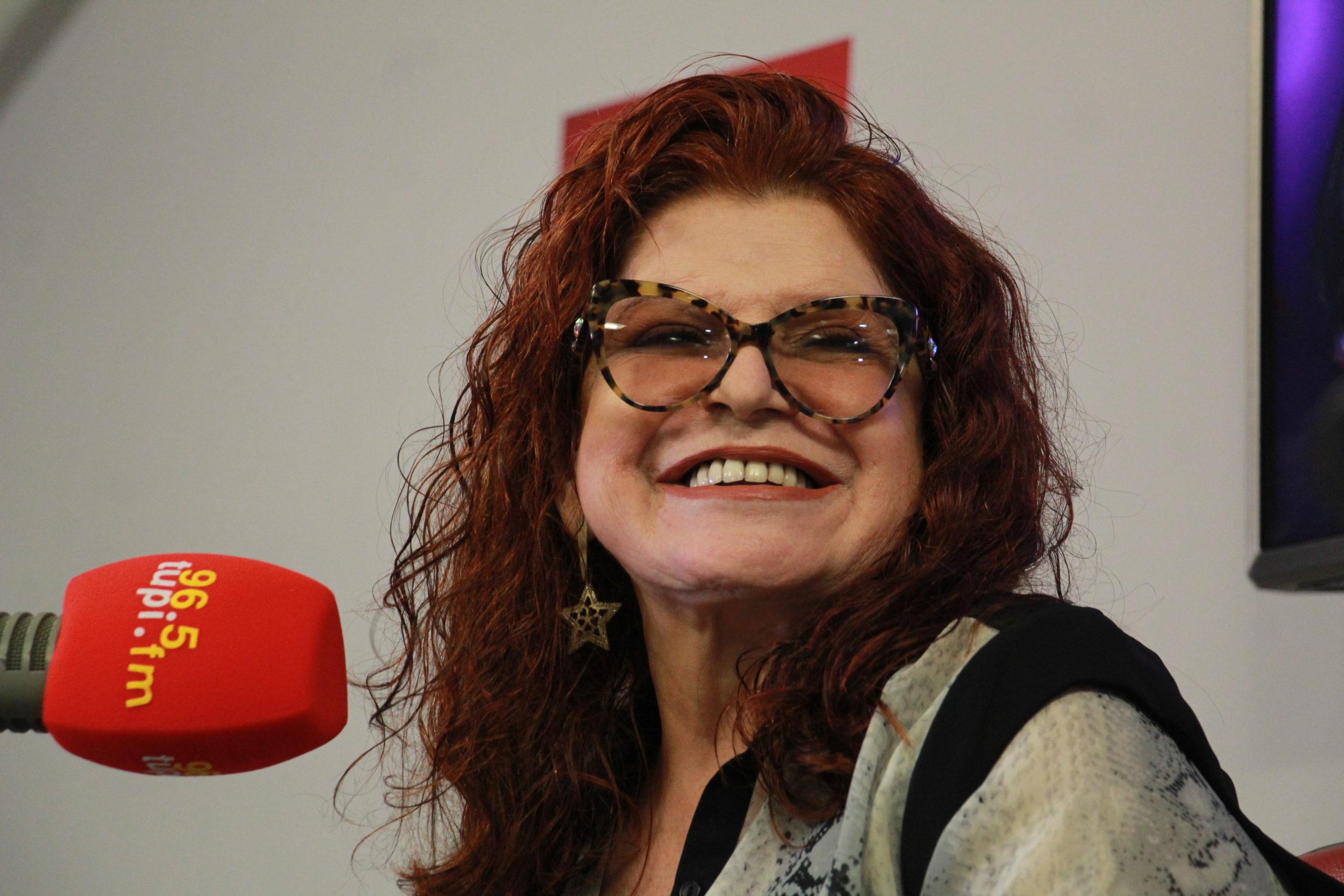 Ex-Frenética e atual astróloga do Show do Antonio Carlos, Leiloca