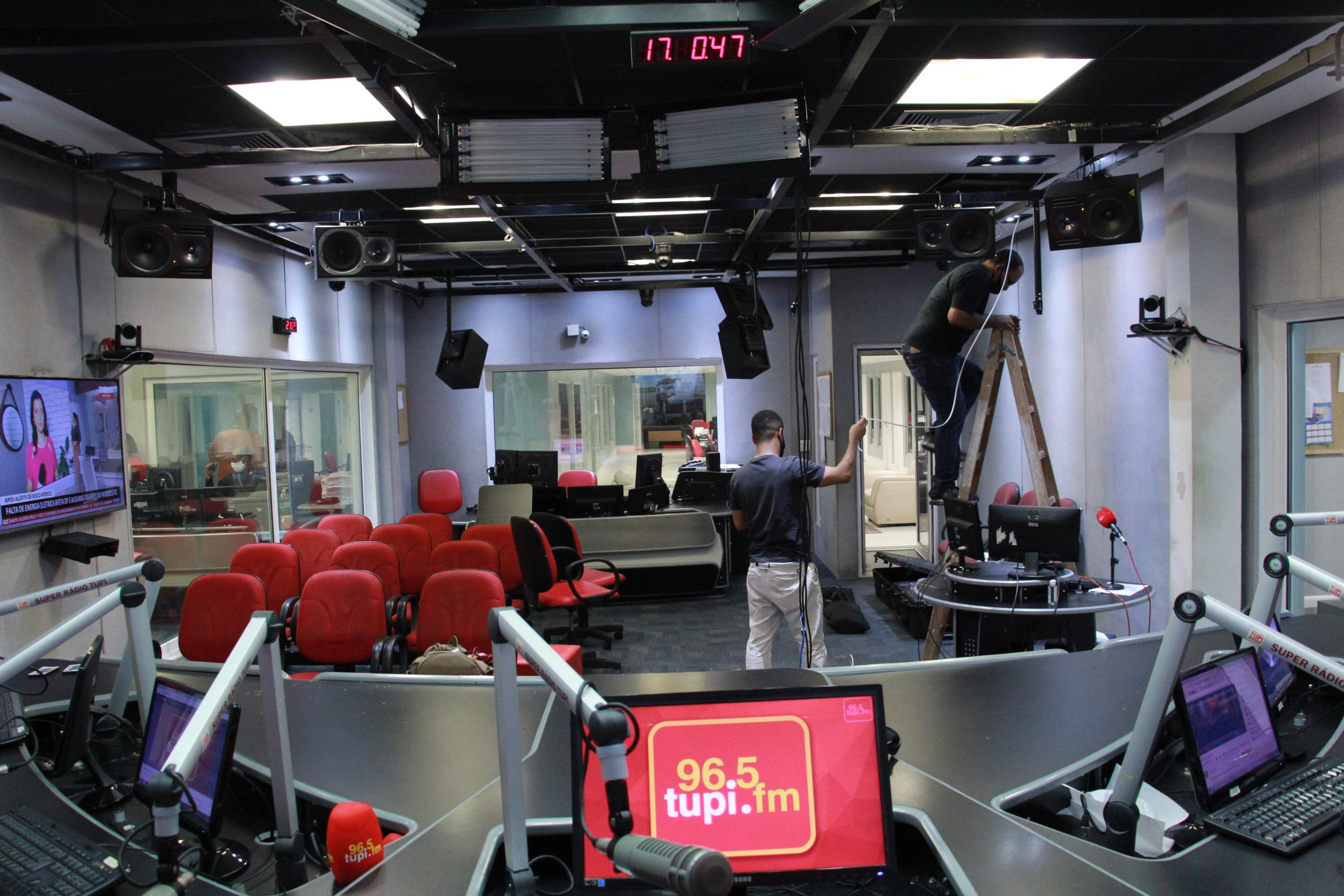 Estúdio da Rádio Tupi