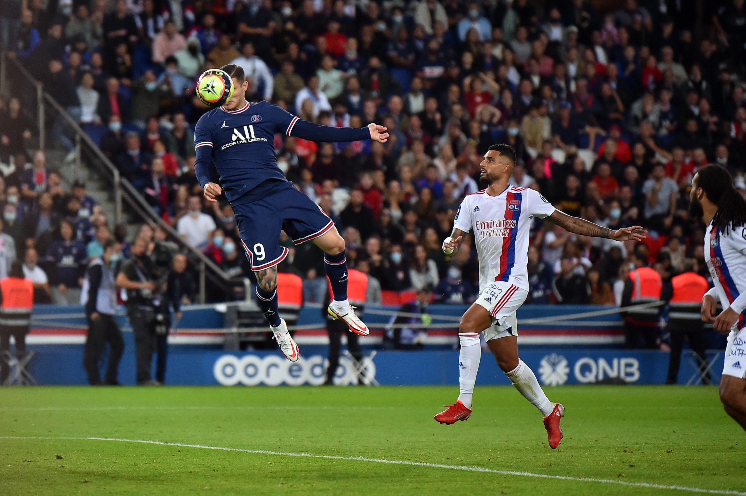 Icardi marcou o gol da vitória do PSG