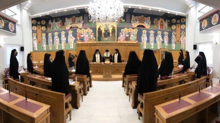 Igreja na Grécia