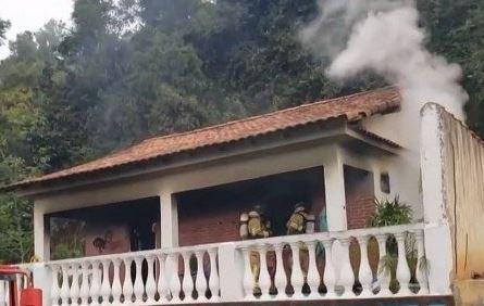 Incêndio em Maricá