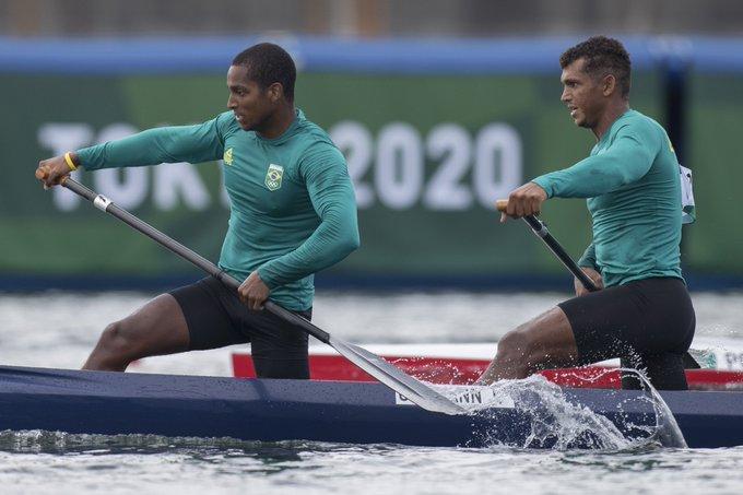 Isaquias e Jacky garantiram vaga na decisão da canoagem