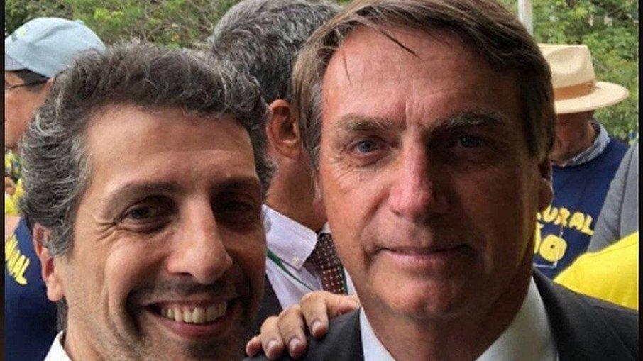Joaquim Leite e Bolsonaro