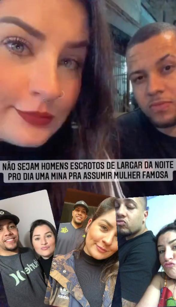 Novo namorado da Jojo Todynho, Márcio Felipe, com a ex, Iza Branquinho