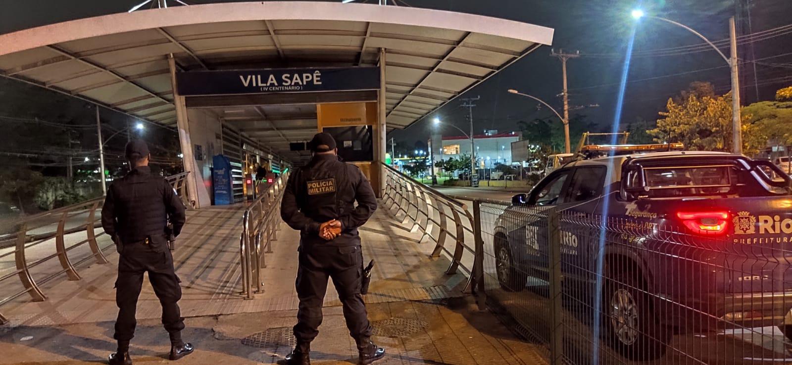 ovem é detido por agentes do BRT Seguro