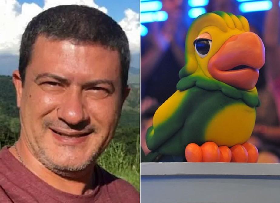 Montagem com Tom Veiga e Louro José