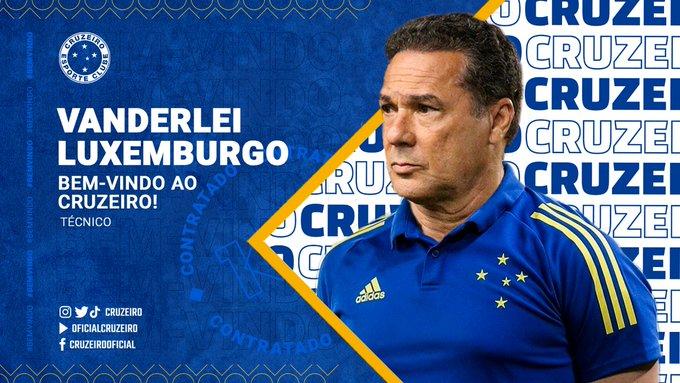 Vanderlei Luxemburgo está de volta ao Cruzeiro