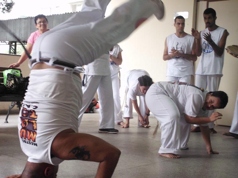 jogo de capoeira