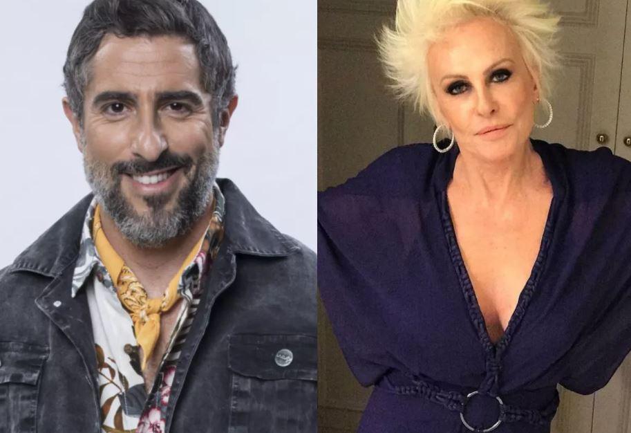 Marcos Mion e Ana Maria Braga