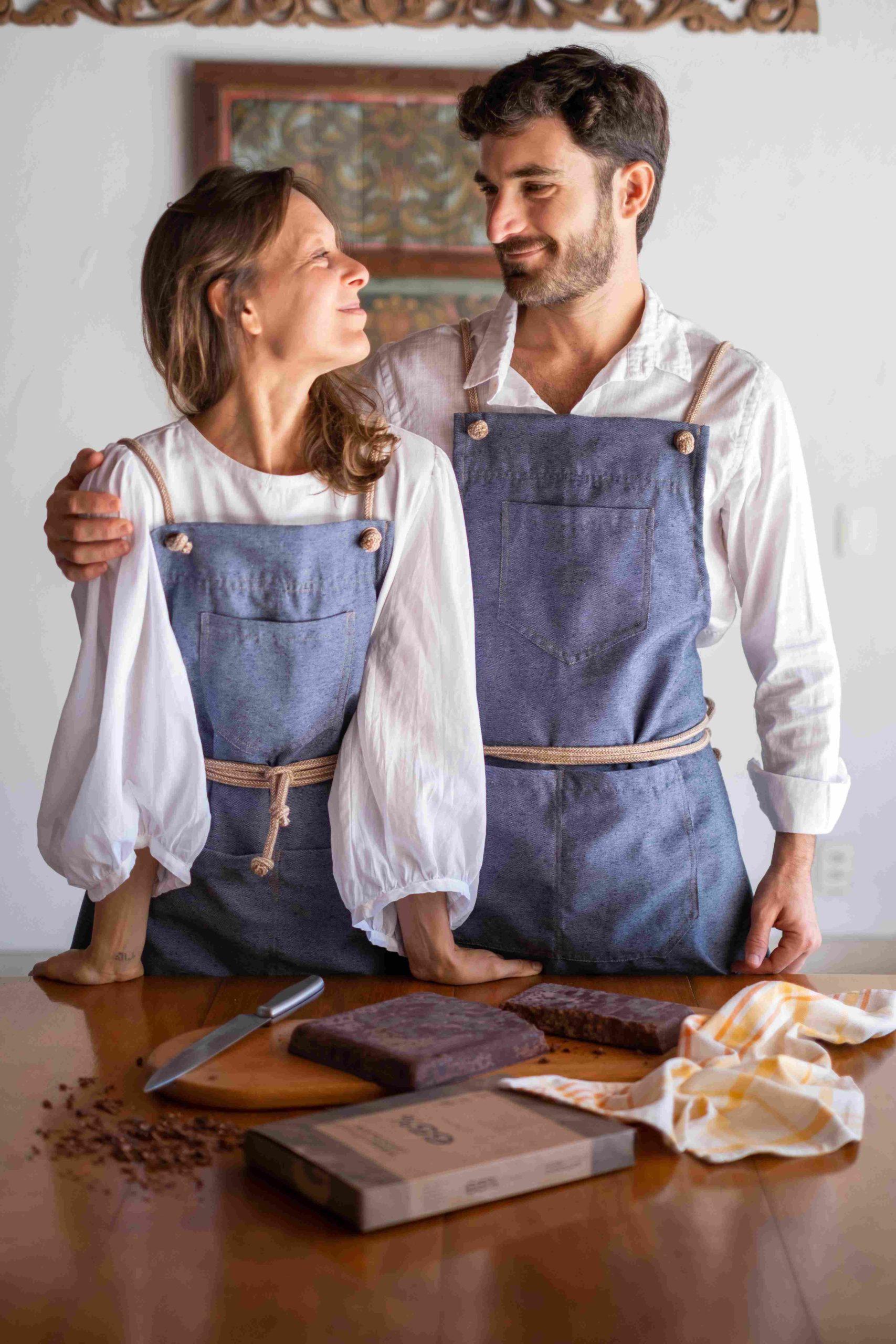 Casais que trabalham juntos contam como é compartilhar vida profissional e pessoal (Foto: Max Velon/ Divulgação)