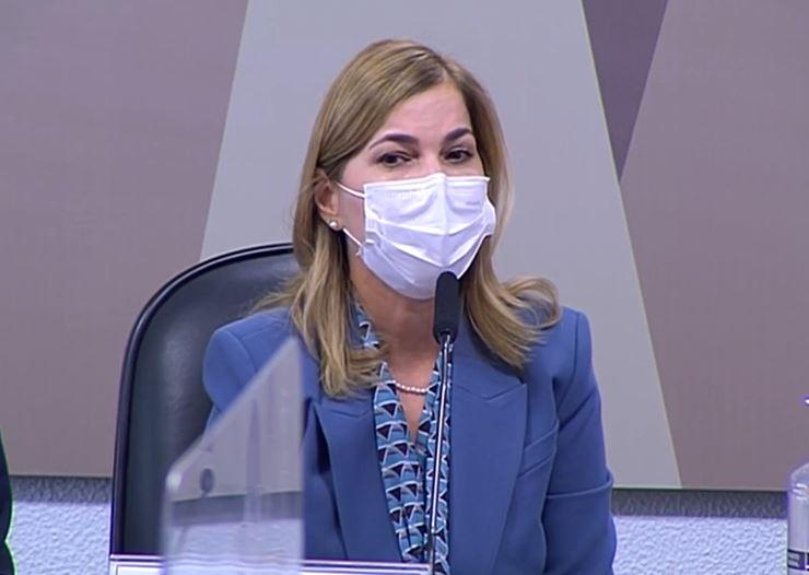 Mayra Pinheiro, secretária de Gestão e Trabalho do Ministério da Saúde