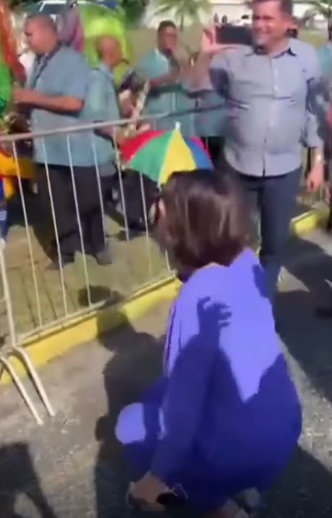 Michelle Bolsonaro dançando Frevo