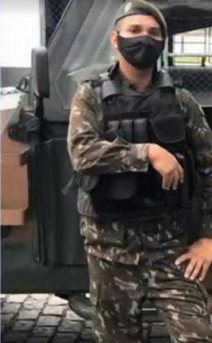 Militar morto enquanto trabalhava como motorista de aplicativo