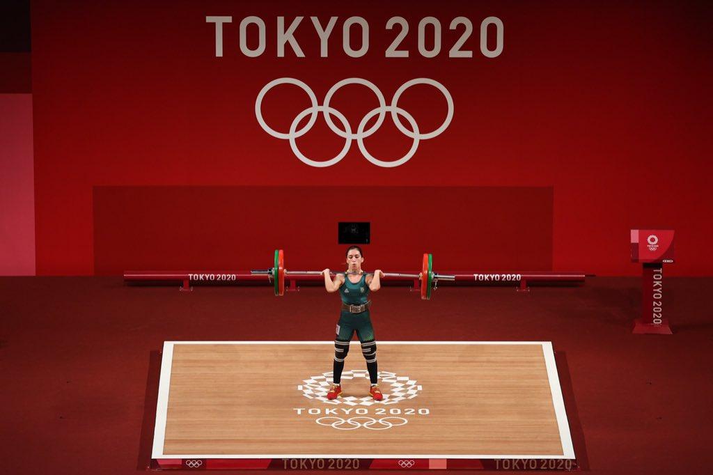 Natasha Rosa somou 173kg na prova