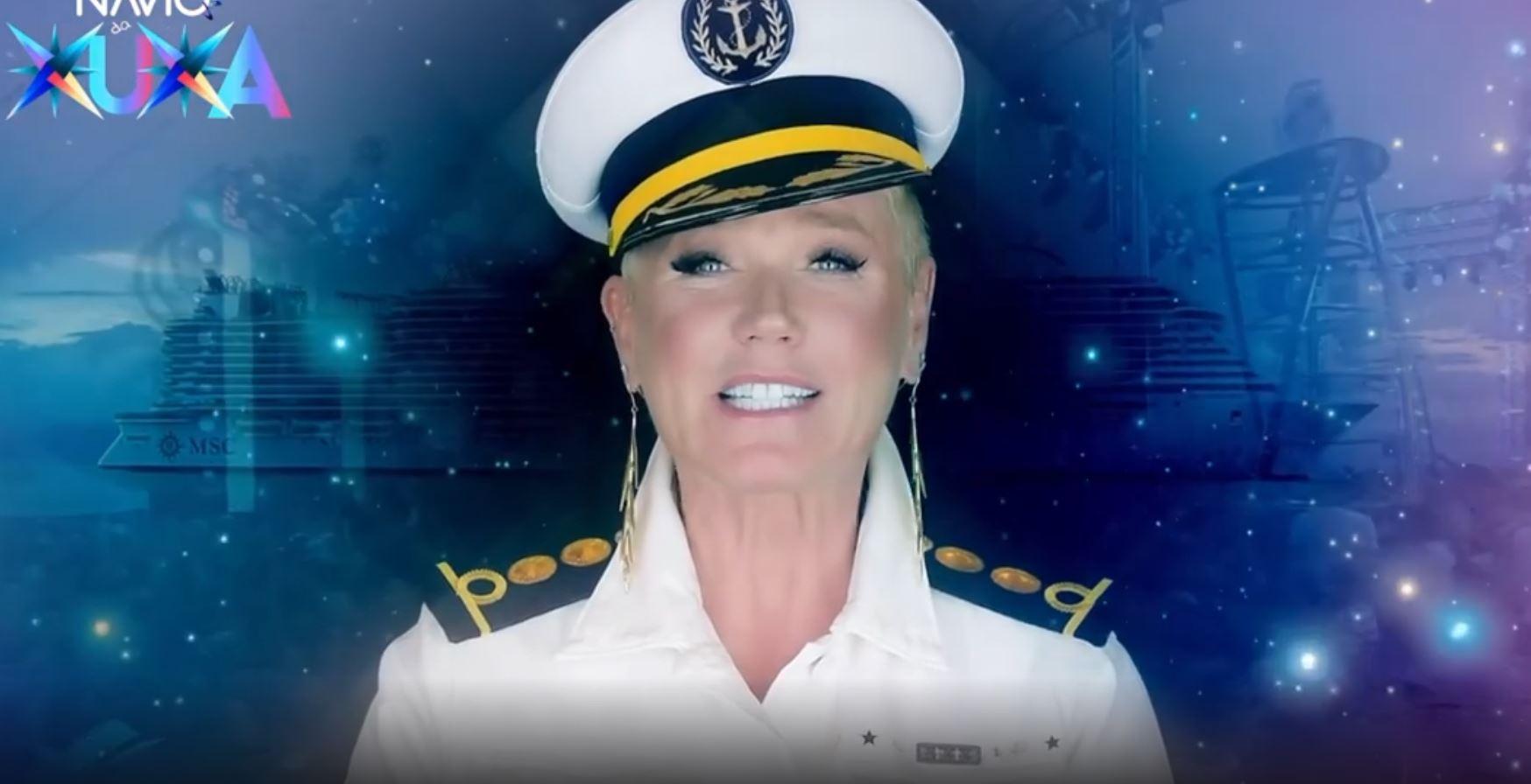 Xuxa anuncia que vai fazer show em navio temático em 2022 (Reprodução: Redes Sociais)