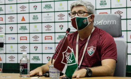 Odair Hellmann avalia como positivo os dois jogos amistosos com o Botafogo