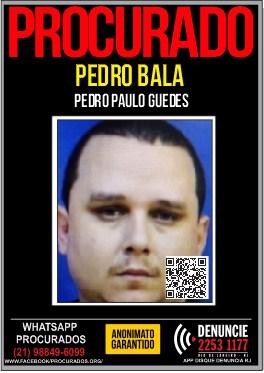 criminoso Pedro Bala procurado