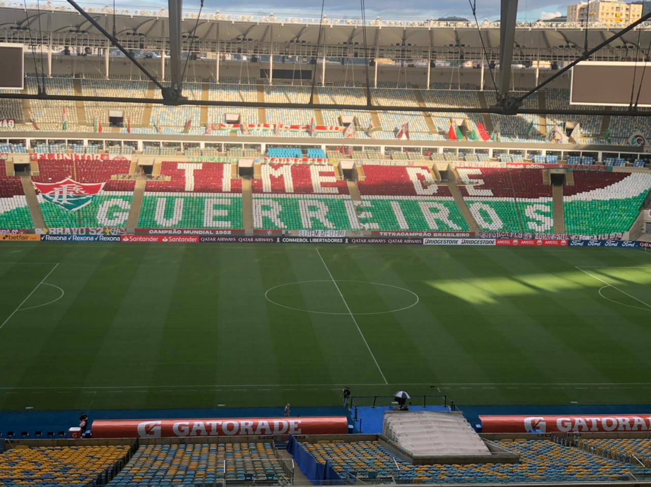 Libertadores: Maracanã está pronto para receber Fluminense x River Plate
