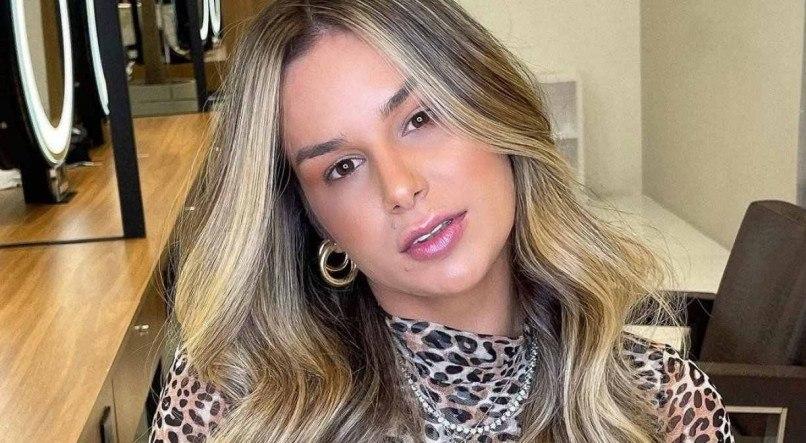 Pamella Holanda é mãe de uma menina de 9 meses, fruto de seu relacionamento com o DJ Ivis (Reprodução: Instagram)