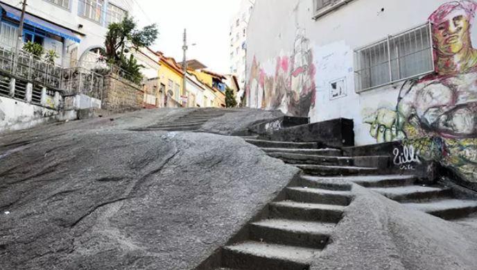 Pedra do Sal, no bairro Saúde