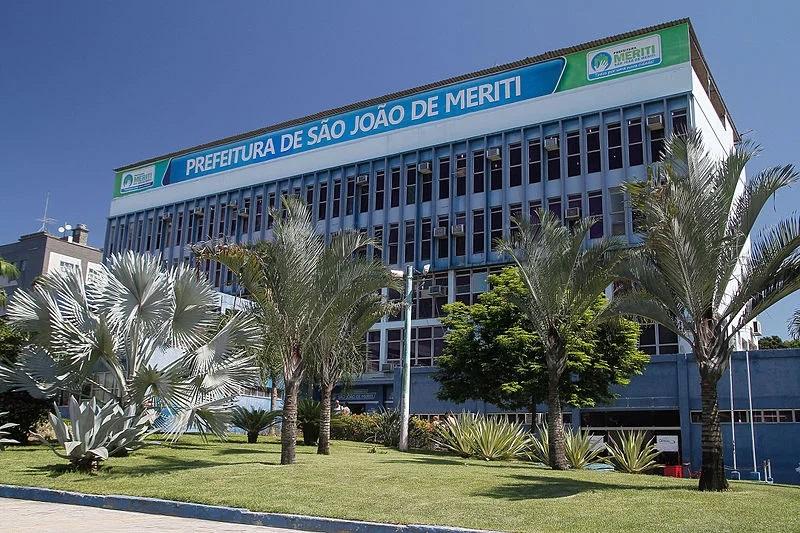 Fachada da Prefeitura de São João de Meriti