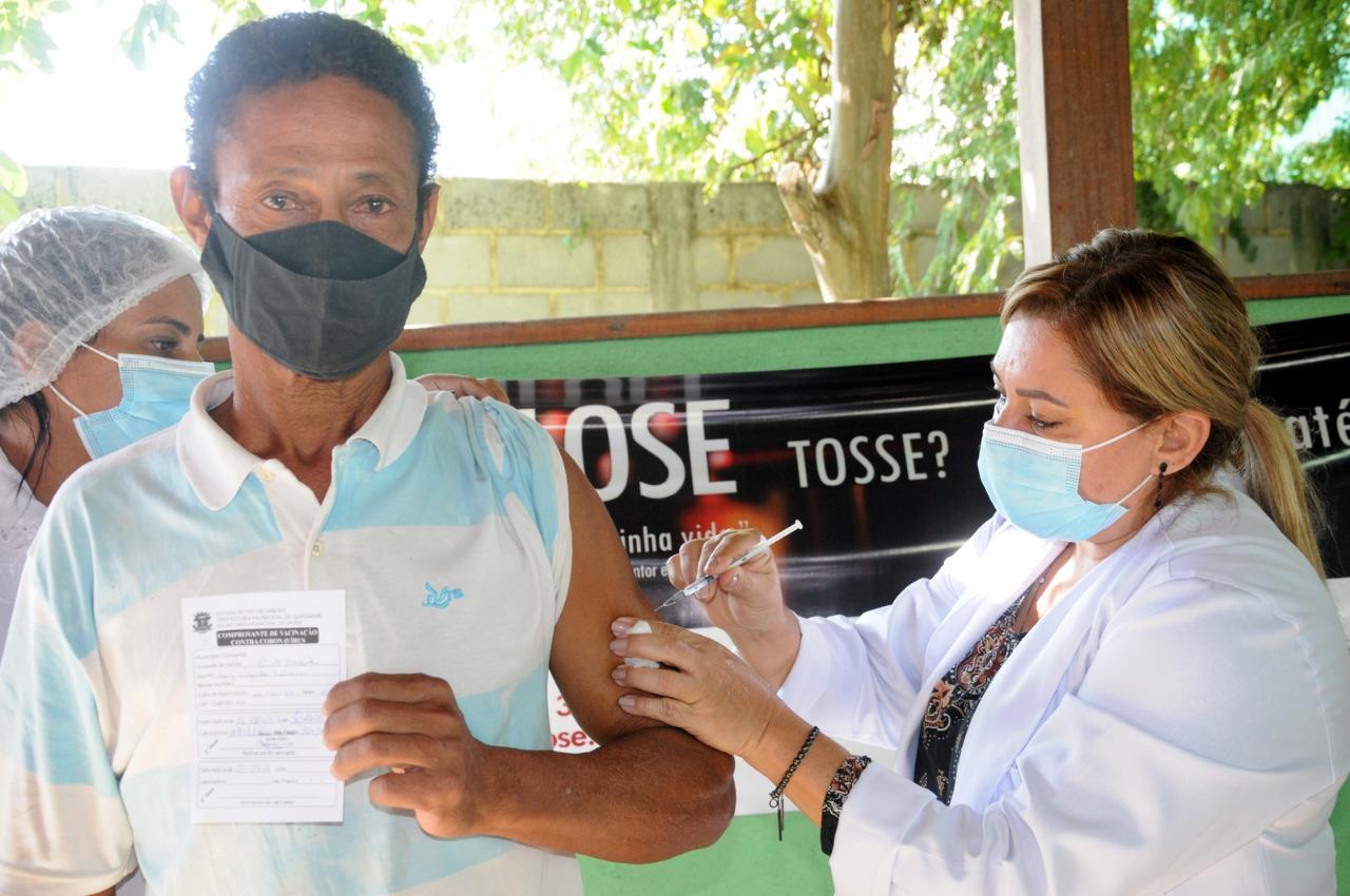 Quissamã inicia vacinação contra a Covid-19 para população em geral