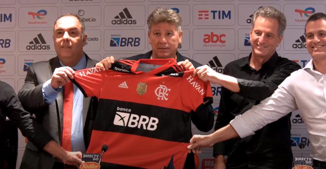 Renato Gaúcho apresentação Flamengo