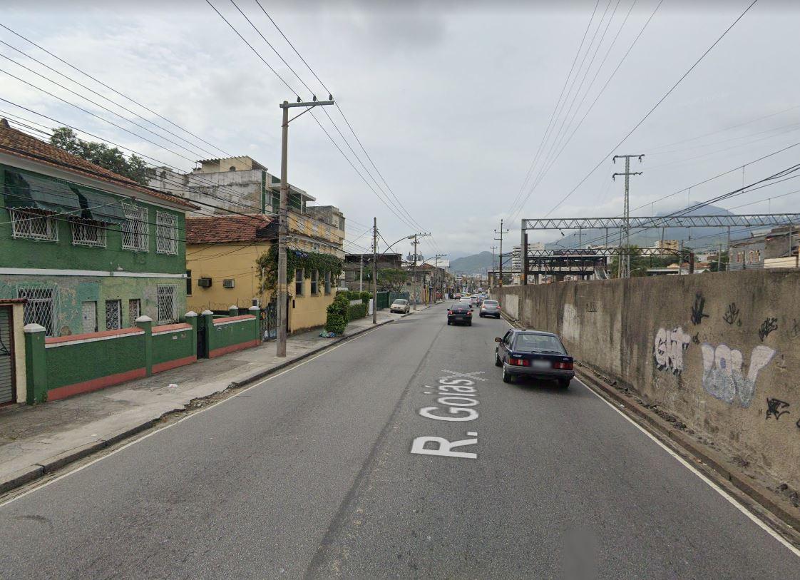 Rua Goiás, na Zona Norte do Rio