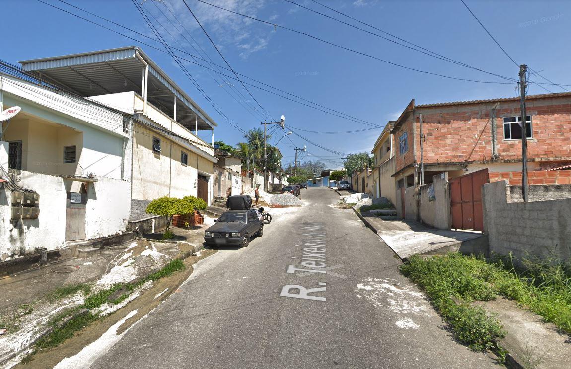 Rua Teixeira de Melo, em Duque de Caxias