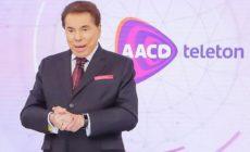 """Silvio Santos não vai apresentar o """"Teleton"""""""