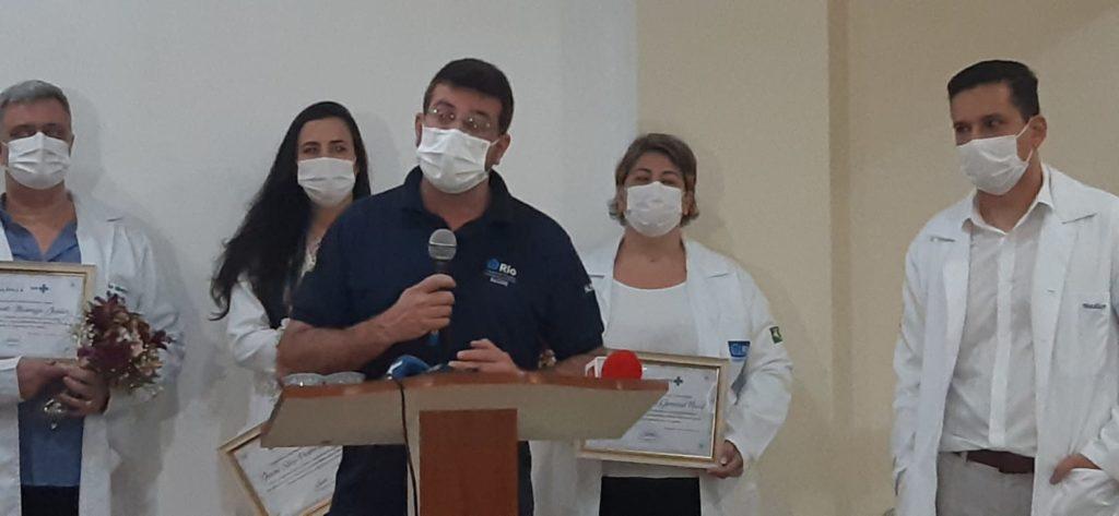 Daniel Soranz no Hospital Ronaldo Gazolla