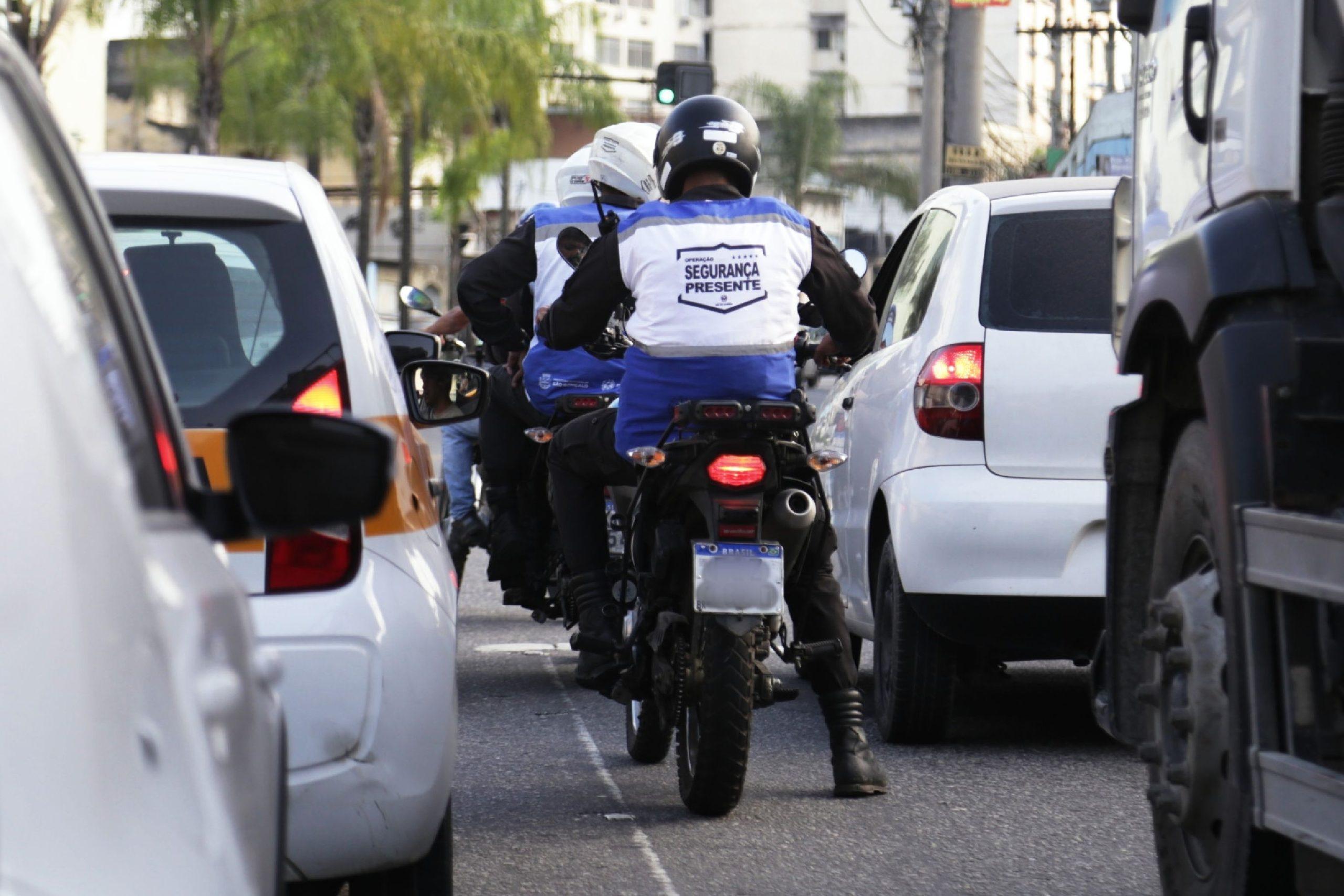 Imagem de agentes de segurança