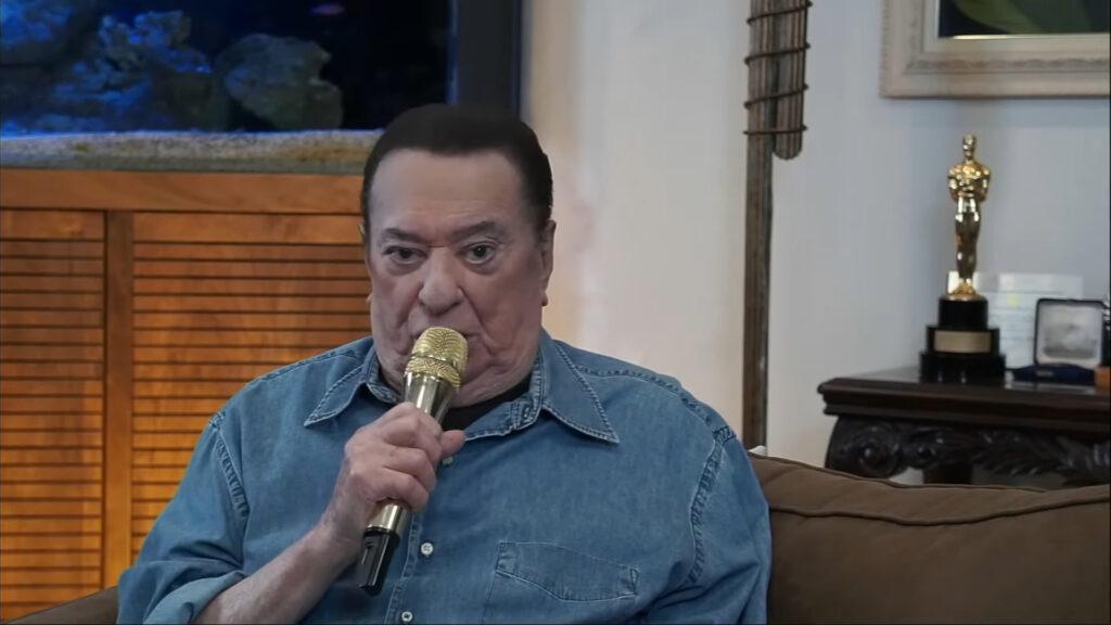 Apresentador Raul Gil já tem data para voltar aos estúdios do SBT
