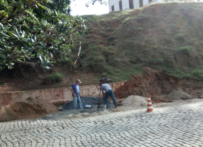 trabalhadores na rua