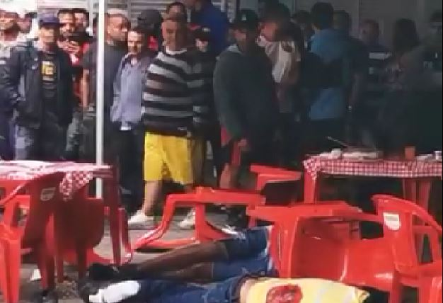 Três pessoas são executadas em ataque a tiros no Terreirão
