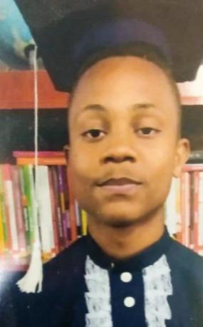 Imagem do adolescente que foi morto no Morro da Fé