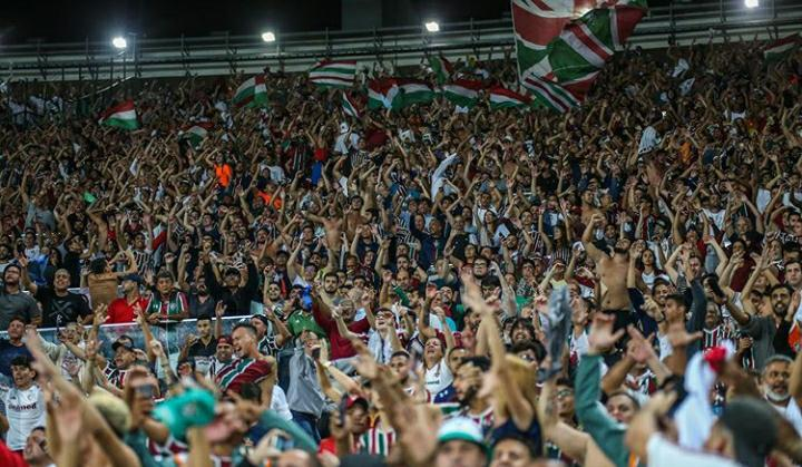 Torcida do Fluminense no Maracanã