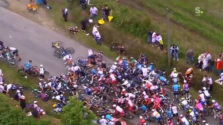 Tour de France acidente