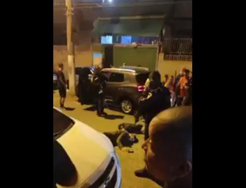 Troca de tiros na Zona Norte do Rio.