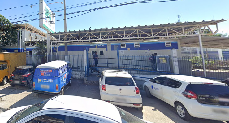 Fachada da UPA do Engenho Novo, na Zona Norte do Rio
