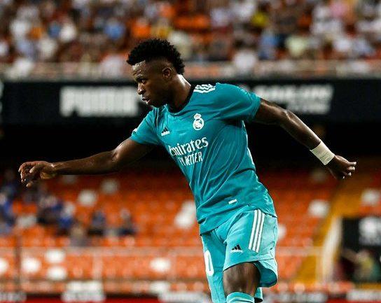 Vinicius Júnior foi o principal nome da vitória do Real Madrid sobre o Valencia