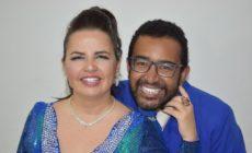 Fabiano Dourado e Vivian Colombo formam o terceiro casal de Mestre-sala e Porta-bandeira da Sossego