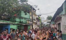 Associação de moradores distribui 650 cestas básicas no Complexo de Acari