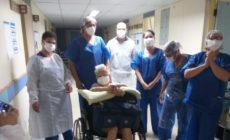 Idosa de 94 anos que atuou na 2ª Guerra Mundial é curada da Covid-19