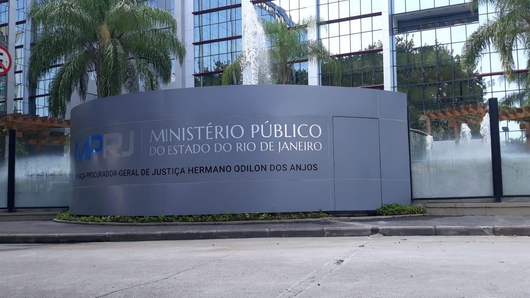 Na imagem, fachada do MPRJ