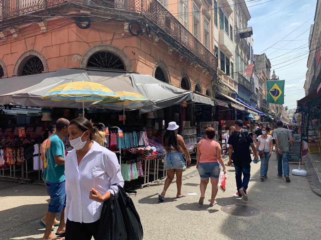 Cidade do Rio soma mais de 250 mil casos da Covid-19 desde o início da pandemia