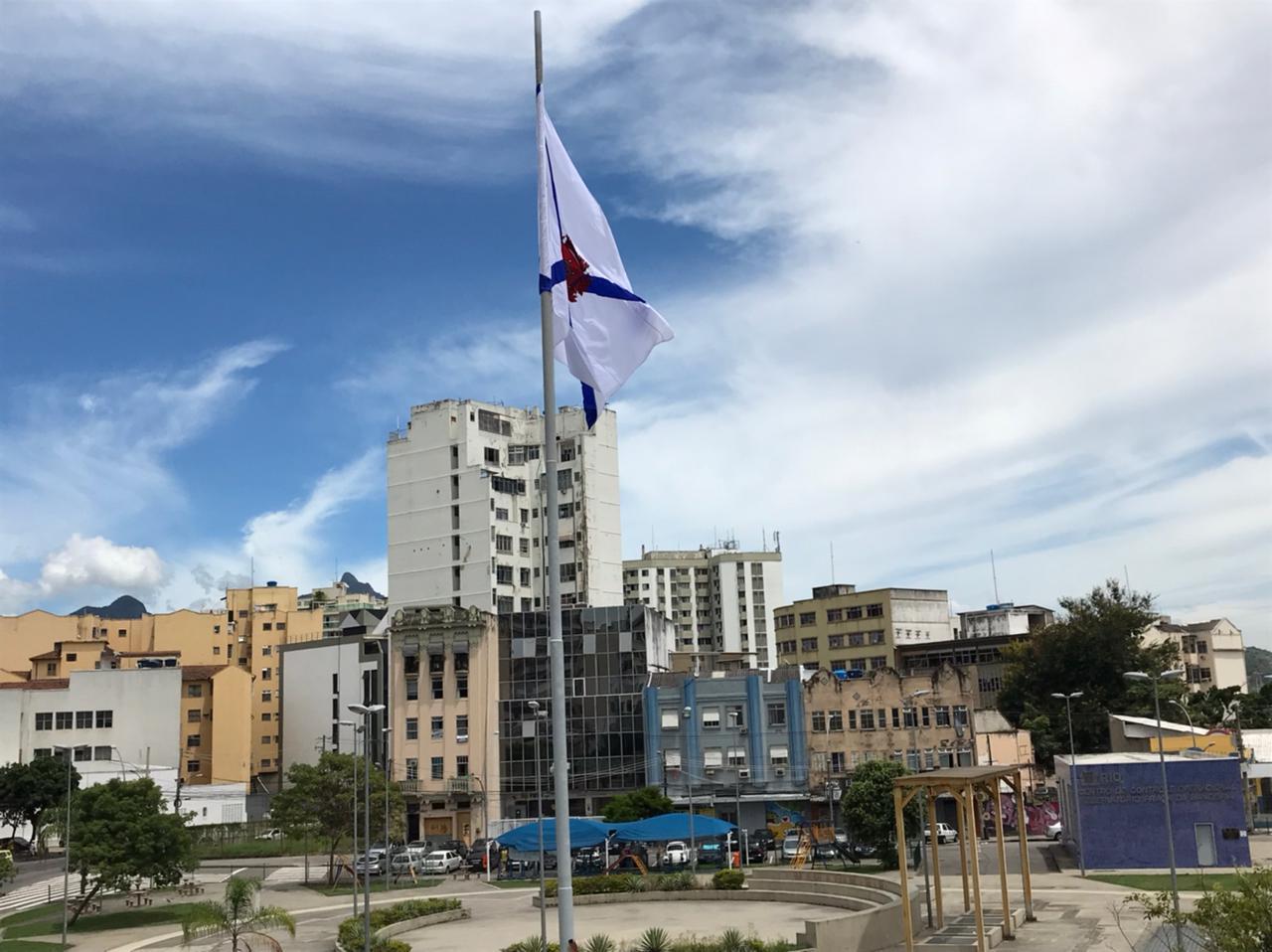 Imagem da Praça da Bandeira