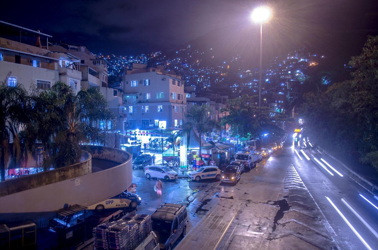 Luz Maravilha chega à Rocinha, na Zona Sul do Rio
