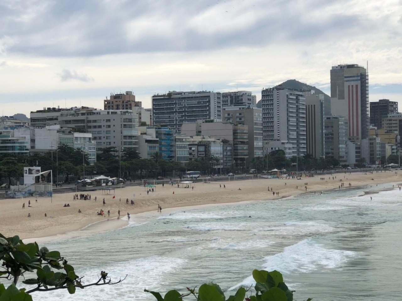 Praia da Zona Sul do Rio