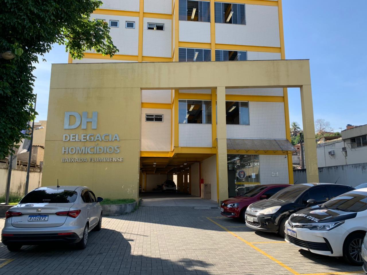 fachada da delegacia